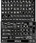 Azerty Grote Letters (Frans)