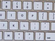 Mac Apple Qwerty (11.5mm X13mm)